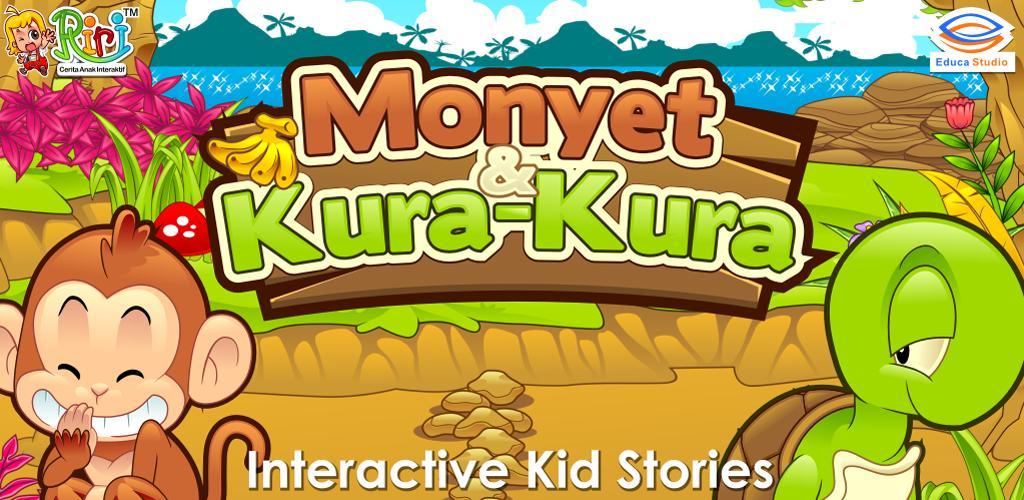 Gambar Monyet Dan Anaknya Animasi Riri Monyet Dan Kura Kura Educa Studio